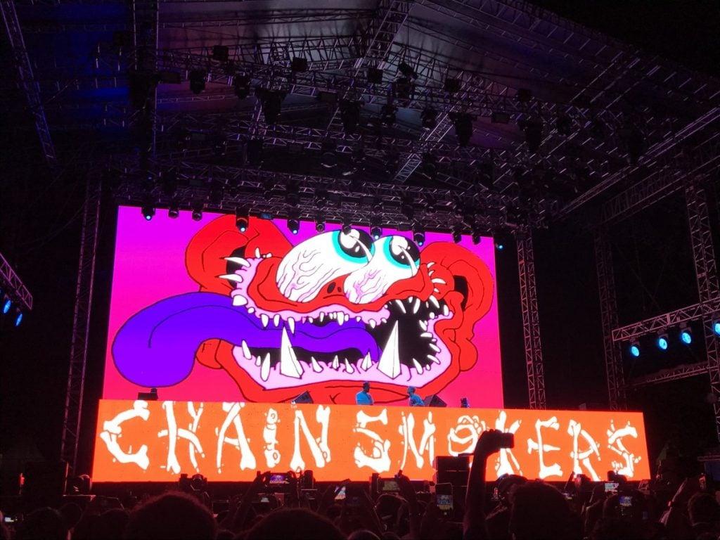 Nonton Konser The Chainsmokers dan Jingkrak-jingkrak Bareng Anak EDM