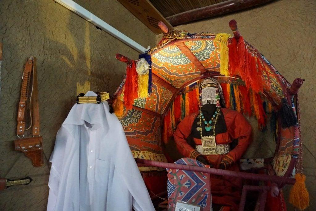 Tandu khas Arab